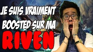JE SUIS BOOSTED SUR MA RIVEN - Game DINGUE de +50 min!(Riven Ranked Diamant Gameplay FR League of Legends LRB / LE ROI BISOU 5% de réduction sur http://www.steichen-optics.com grâce au code : LRB., 2016-05-12T15:14:47.000Z)