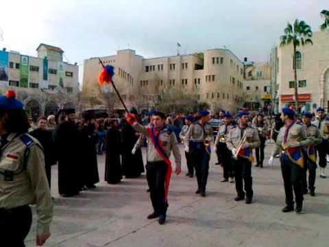 ARMENIAN JERUSALEM CHRISTMAS IN BETHLEHEM 2011 .mp4