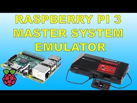 Raspberry Pi 3 Running SEGA  Master system Emulator Retropie Emulation Station