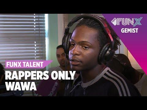WAWA rapt op DRIE BEATS | FunX Talent Rappers Only | Tweede Ronde
