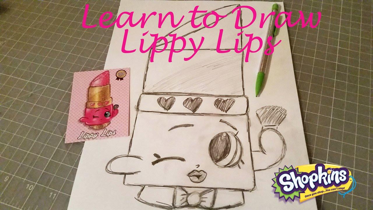 Lippy Lips Cake Tutorial