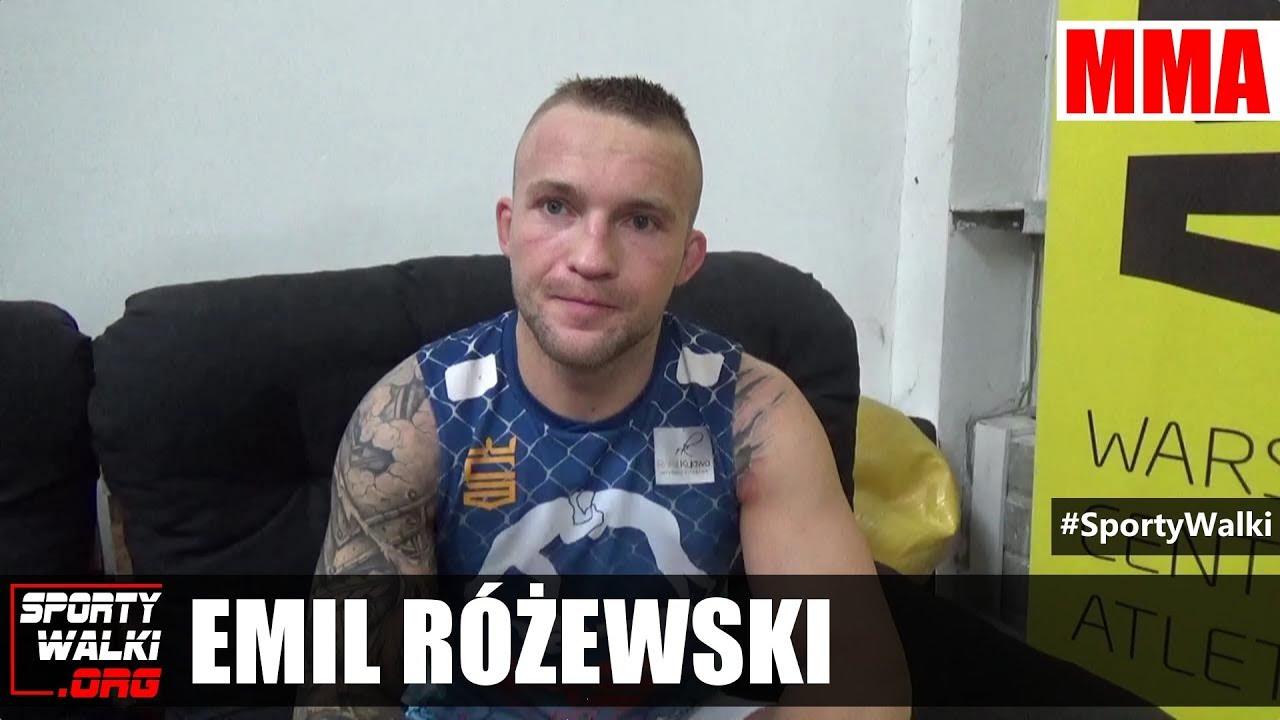 Emil Różewski o swojej przyszłości w ACB i nie tylko