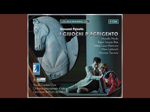I giuochi d'Agrigento: Act I Scene 3: O del rettor del tuono, venerandi ministri (Cleone) -...