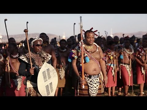 Reed Dance Ceremony in Swaziland