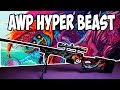 How to make AWP HYPER BEAST CS:GO DIY with templates part 2