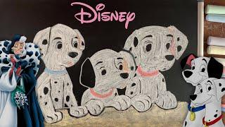 Cruella de Vil (Disney's 101 Dalmatians) ♫ 8 HOURS of Chalk Art Lullabies for Babies