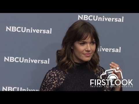 Mandy Moore at The NBCUniversal 2016 Upfront Presentation