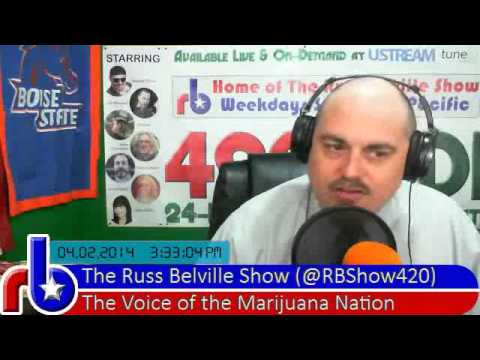 The Russ Belville Show #377 - 10 Signs Marijuana Prohibition Is Game Over In Five Years