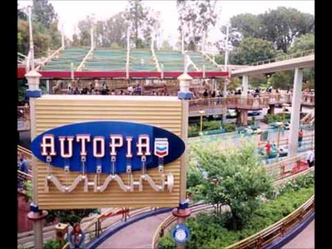 Disneyland Autopia Queue Music (Nation on Wheels) (2001-2017)