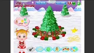 game y8 Baby Hazel Gingerbread House