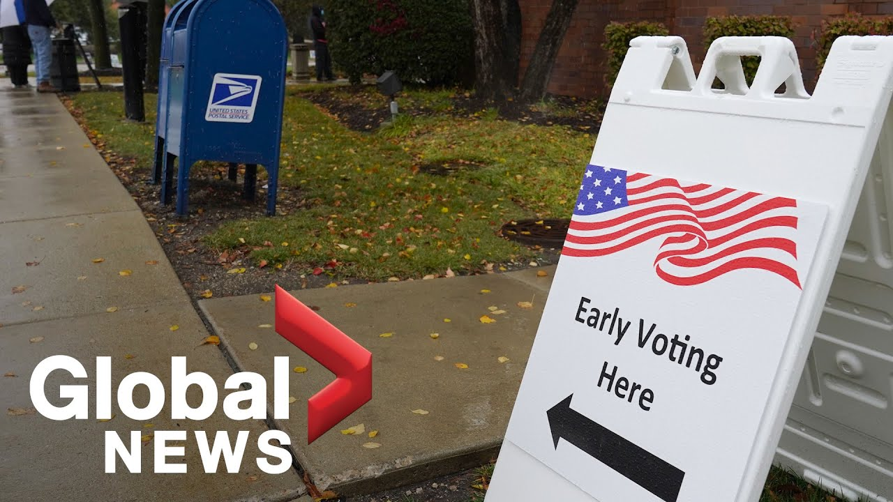 US election: Pennsylvania's new early voting system proves popular