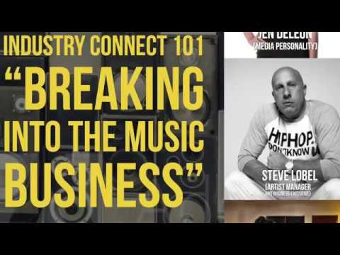 "OneWest Magazine talks with Steve Lobel at ""Industry Connect 101:Breaking Into The Music Business"""
