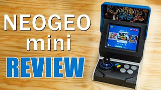 NEOGEO mini Unboxing and Review