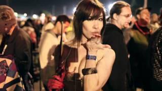 Съемки церемонии открытия продаж Cataclysm в Калифорнии