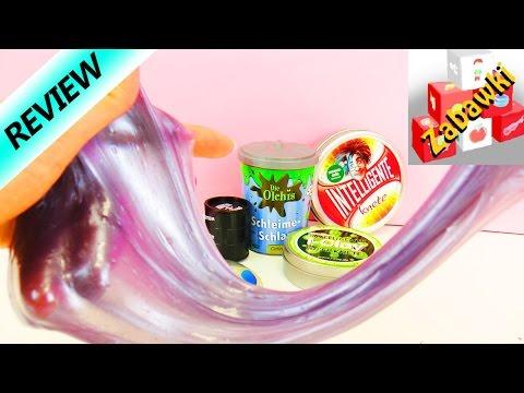 Mega porównanie - glutek ufo i-clay barrel o slime - 동영상