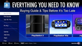 PlayStation Store Closing on PS3/Vita/PSP: Everything You Need To Know.