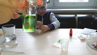 Эксперименты и научные опыты для детей. Открываем набор.