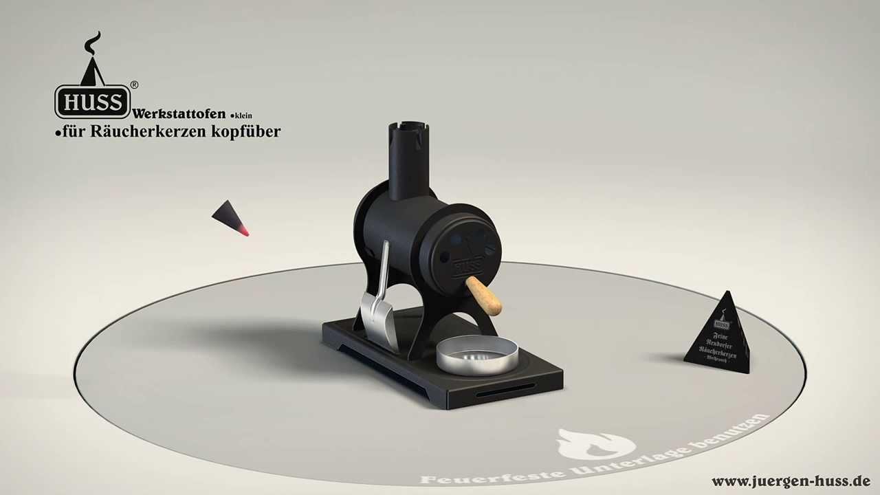 werkstattofen klein f r r ucherkerzen aus dem. Black Bedroom Furniture Sets. Home Design Ideas