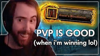 """""""PvP is Balanced When I'm Winning"""" - Asmongold (Best of Asmongold Ep. 61)"""