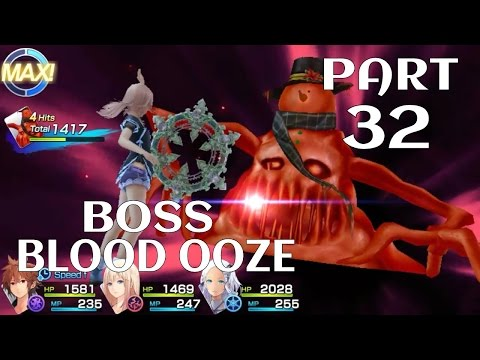 Chaos Rings Ⅲ Walkthrough Gameplay Part 32 [BLOOD OOZE BOSS BATTLE]