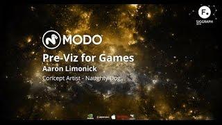 Modo Pre-viz For Games - Naughty Dog At Siggraph 2014