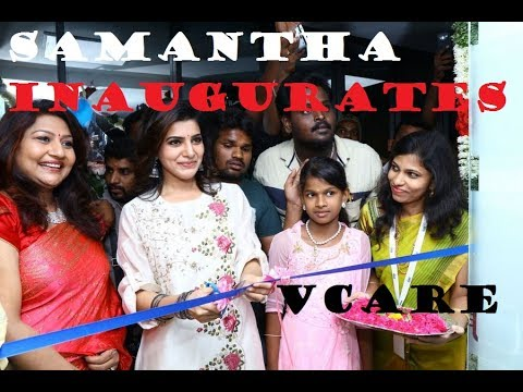 Samantha inaugurates Vcare Hair Clinic at Madurai View IN Tamil Cinema