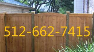 Cedar Wood Privacy Fence Replacement In Austin Texas 512-662-7415