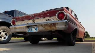 1964 Falcon 260ci V8 - rusted exhaust sound