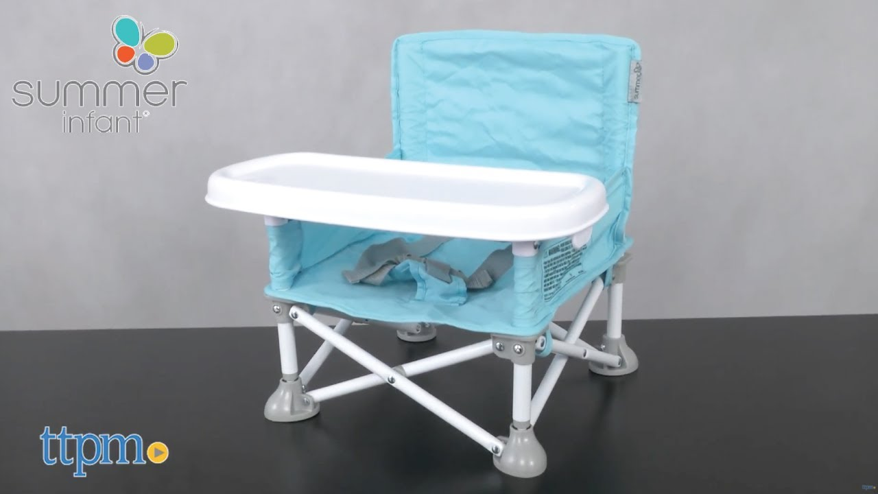 Superbe Pop Nu0027 Sit Portable Booster Seat From Summer Infant