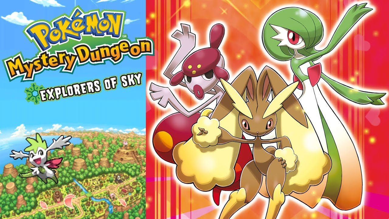 Video Games & Consoles Last Pokemon Mystery Dungeon Exploration Team