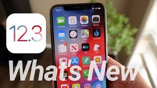 iOS 12.3 Update Released! What's New
