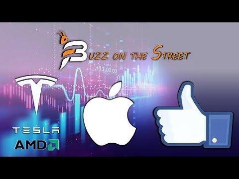"The Latest ""Buzz on the Street"" Show: Featuring Tech Earnings Recap (NASDAQ: AAPL AMD FB TSLA)"