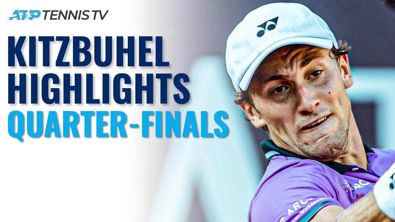 Ruud Battles Ymer; Krajinovic, Mager and Rinderknech In Action | Kitzbuhel Highlights Quarter-Finals