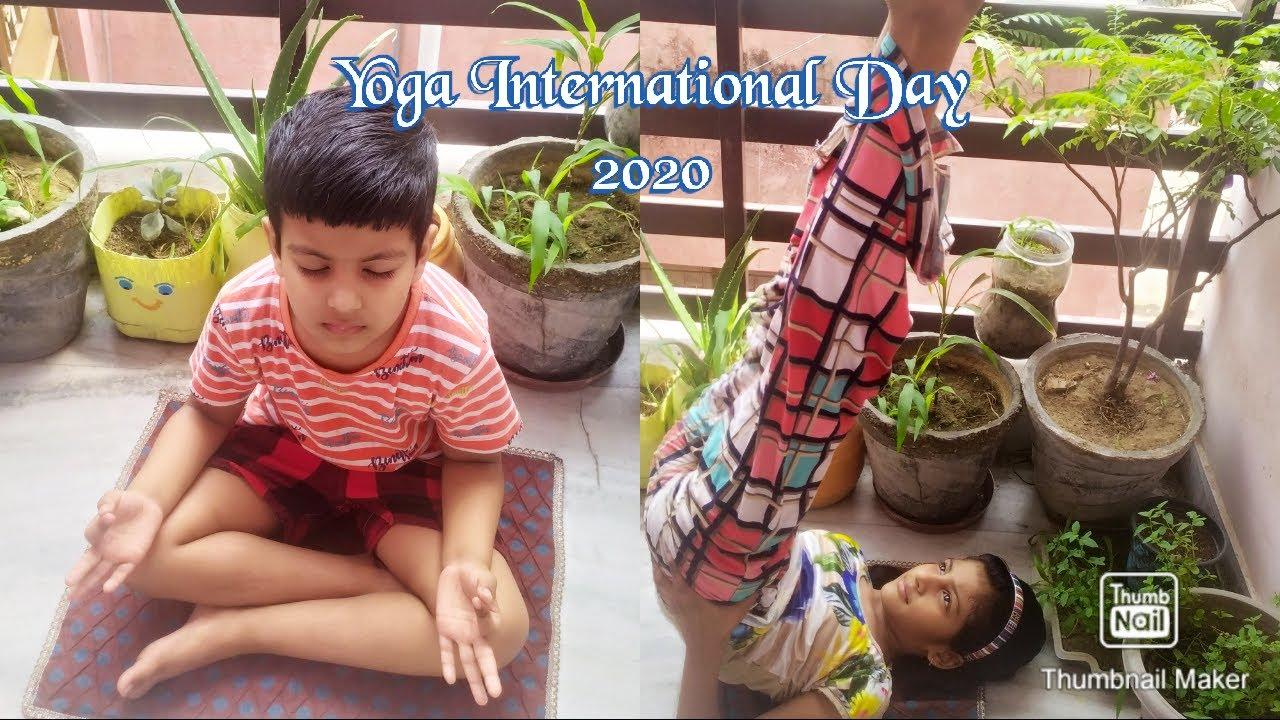 Happy International Yoga Day ll 2020