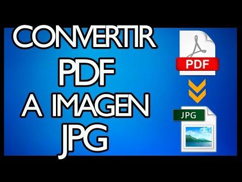 Aprende A Convertir Un Archivo PDF A JPG [Sin Errores Y Buena Calidad 2017]
