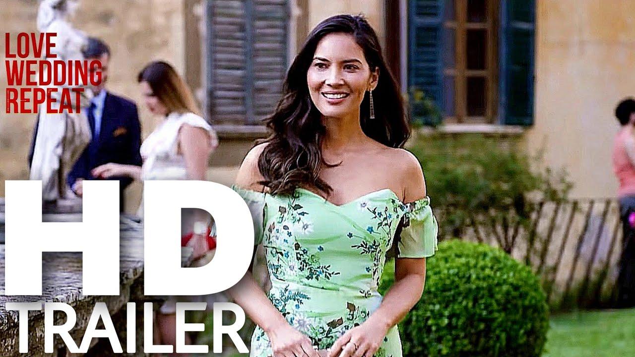 Love Wedding Repeat 2020 Netflix Romantic Comedy Movie Trailer Olivia Munn Youtube
