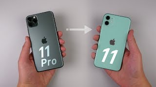 Download I Ditched my 11 Pro Max for the iPhone 11 - But then I Switched Back... Mp3 and Videos