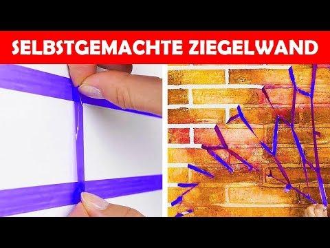 33 einfache Wege, um deine Wände zu bemalen