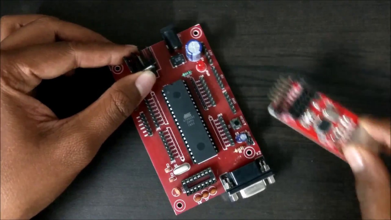 8051 microcontroller development board [ 1280 x 720 Pixel ]