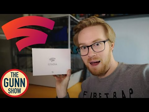 Google Stadia Founders Edition UK Unboxing Including Gameplay & First Thoughts