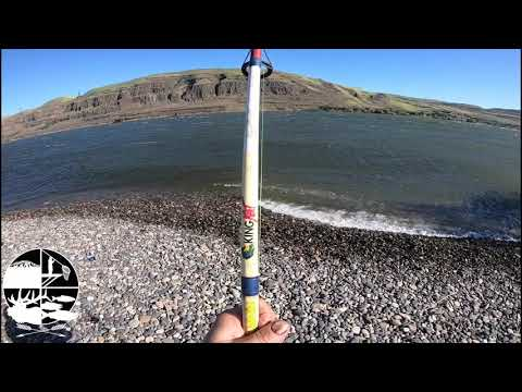 Hard Core Plunking On The Columbia River