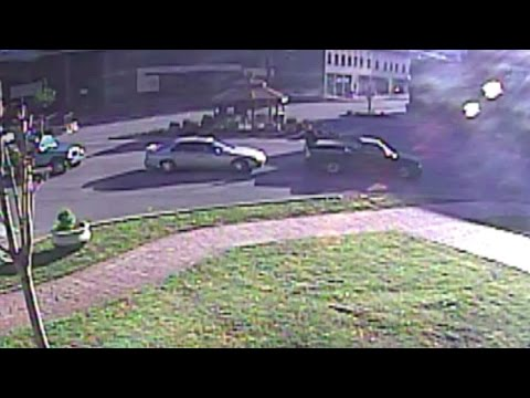 Man stops traffic to moon police