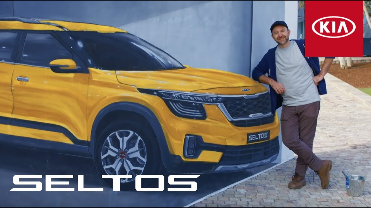 Kia Seltos 3D Art - Making Of | Kia Australia