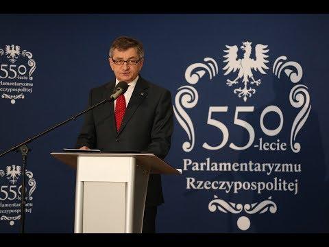 Przemówienie Marszałka Sejmu