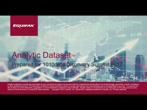 New Dataset Overview: Equifax Analytical Dataset Partner Presentation