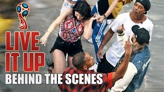Live It Up (Behind the Scenes) - Nicky Jam feat. Will Smith & Era Istrefi (2018 FIFA World Cup)