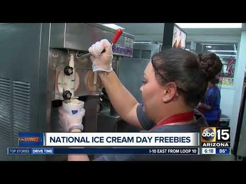 National Ice Cream Day deals around the Valley!