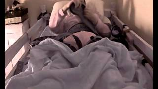 Repeat youtube video strapped my self with segufix in to bed   part 1 of 5