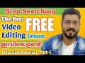 - Openshot Editor detailed Tutorial Malayalam   Part 1   for beginners #openshottutorial #editor