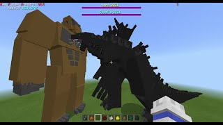 KING OF THE MONSTERS Mod IN MCPE